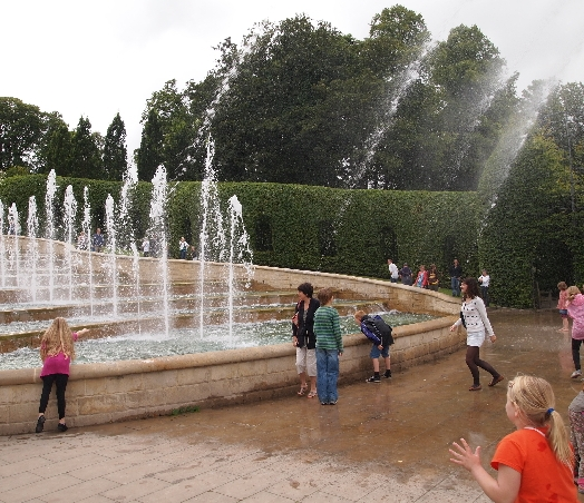 Alnwick cascade - a garden made for children, families and interaction